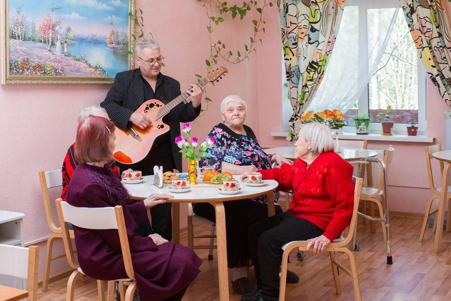 Дом интернат для инвалидов и престарелых киров